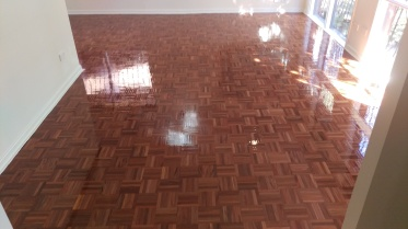 Old Brushbox parquetry in Dapto
