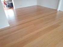 Hardwood floor in Minnamurra coated with water based polyurethane